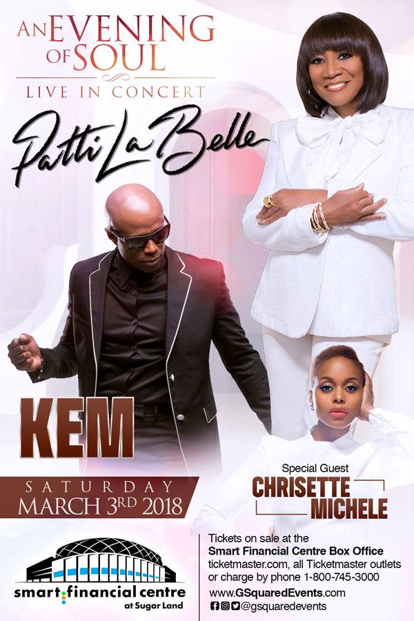 An Evening of Soul w/ Patti LaBelle & Kem