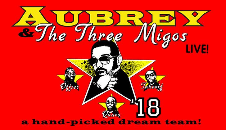 Drake + Migos: Aubrey and the Three Migos