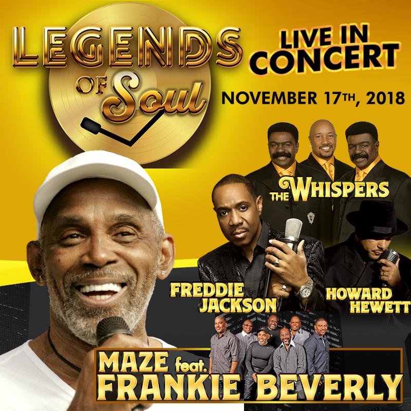 Legends of Soul w/ Maze feat Frankie Beverly