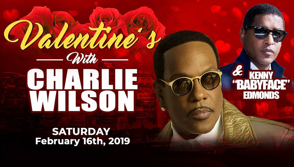 "Valentine's with Charlie Wilson and Kenny ""Babyface"" Edmonds"