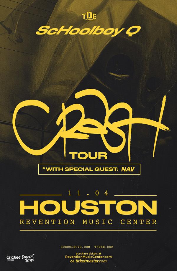 TDE Presents ScHoolboy Q: CrasH Tour